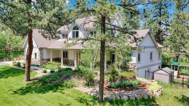 4299 Cheyenne Drive, Larkspur, CO 80118 (#4316375) :: Venterra Real Estate LLC