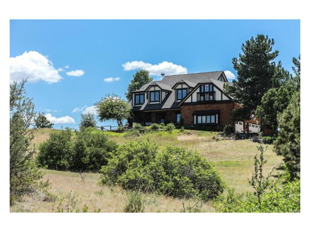 8654 N Sunburst Trail, Parker, CO 80134 (#4317578) :: The Sold By Simmons Team