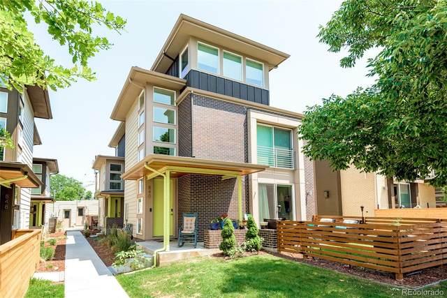 842 Fairfax Street, Denver, CO 80220 (#4324523) :: Stephanie Fryncko | Keller Williams Integrity