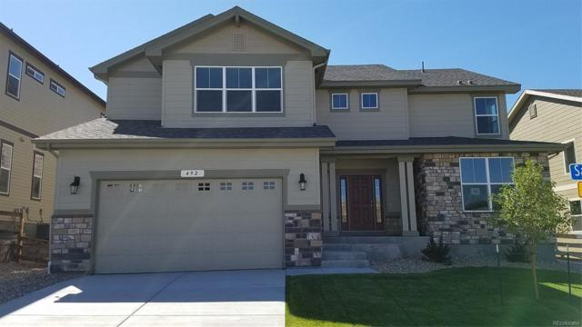 492 Sage Grouse Circle, Castle Rock, CO 80109 (#4325369) :: Colorado Home Finder Realty