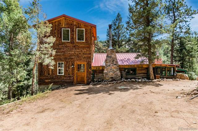 15948 Old Stagecoach Road, Pine, CO 80470 (#4326026) :: The DeGrood Team
