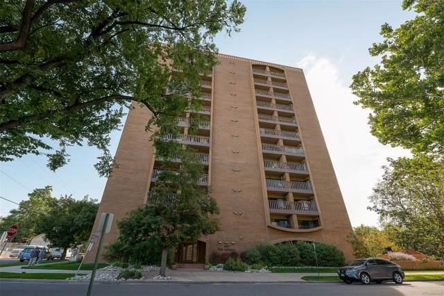 400 S Lafayette Street #903, Denver, CO 80209 (#4328095) :: milehimodern