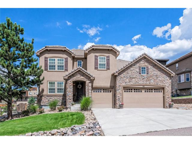 821 Elk Rest Road, Evergreen, CO 80439 (#4330567) :: The Peak Properties Group