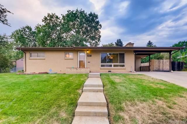 830 W Crestline Place, Littleton, CO 80120 (MLS #4332409) :: 8z Real Estate