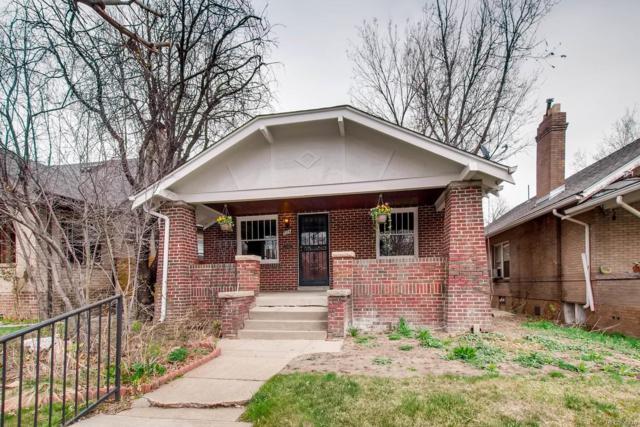 724 Elizabeth Street, Denver, CO 80206 (#4335178) :: The Peak Properties Group