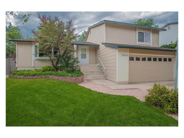 2965 Westcliff Circle, Colorado Springs, CO 80906 (MLS #4336576) :: 8z Real Estate