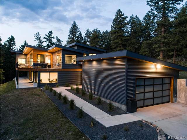 6448 S Skyline Drive, Evergreen, CO 80439 (#4340456) :: The Harling Team @ Homesmart Realty Group