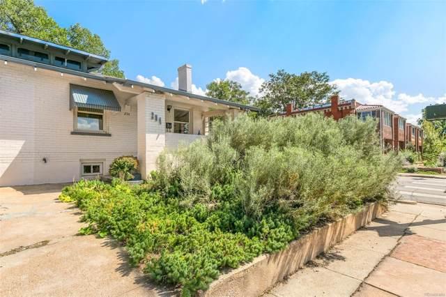 294 S Washington Street, Denver, CO 80209 (MLS #4341199) :: 8z Real Estate