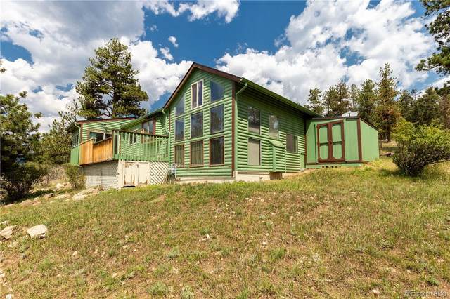1105 County Road 72, Bailey, CO 80421 (#4345883) :: HomeSmart Realty Group