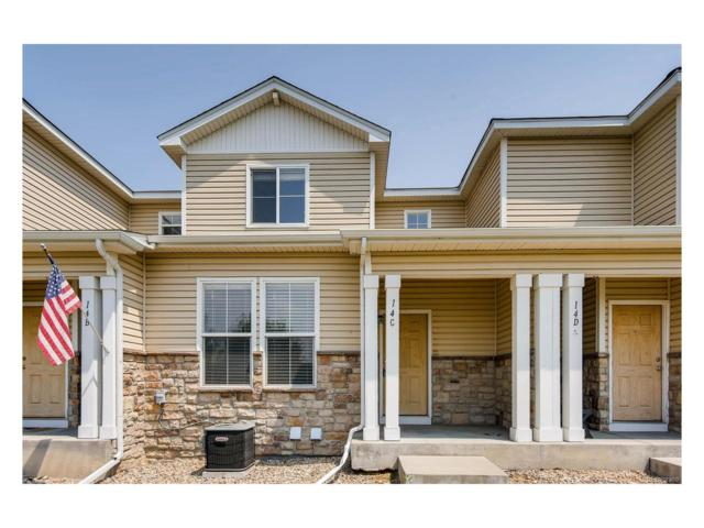 9758 Laredo Street 14C, Commerce City, CO 80022 (#4346933) :: The Peak Properties Group