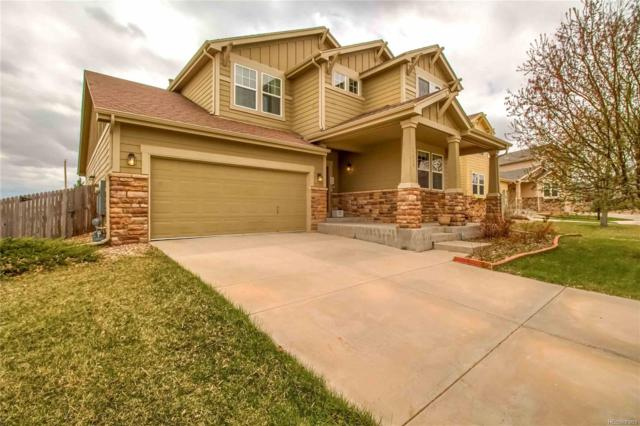 17028 Pale Anemone Street, Parker, CO 80134 (#4347249) :: The Dixon Group
