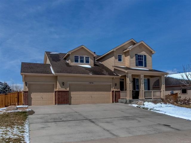 4056 Desert Ridge Circle, Castle Rock, CO 80108 (#4347323) :: Compass Colorado Realty