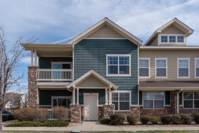 9557 Pearl Circle #203, Parker, CO 80134 (#4349082) :: The Griffith Home Team