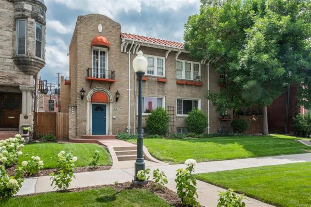 1528 N Emerson Street #2, Denver, CO 80218 (#4350227) :: The Heyl Group at Keller Williams