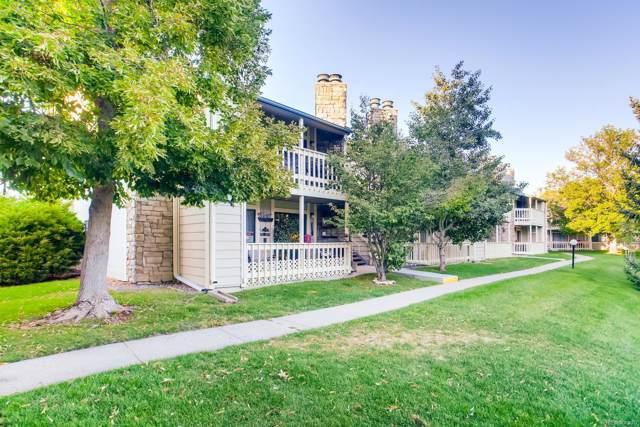8335 Fairmount Drive #104, Denver, CO 80247 (MLS #4351996) :: Keller Williams Realty