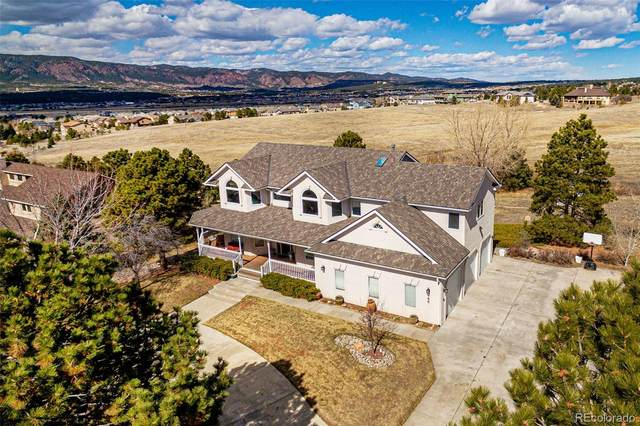 780 W Caribou Drive, Monument, CO 80132 (#4353454) :: The Harling Team @ Homesmart Realty Group