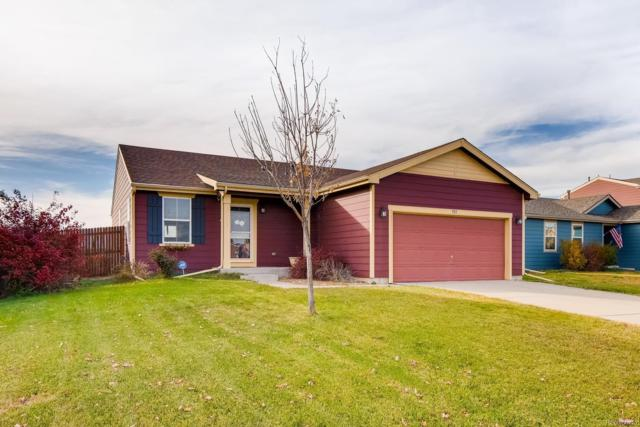 923 Stagecoach Avenue, Lochbuie, CO 80603 (#4354657) :: The DeGrood Team