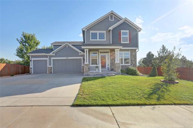 395 Eaglestone Drive, Castle Rock, CO 80104 (MLS #4355074) :: 8z Real Estate