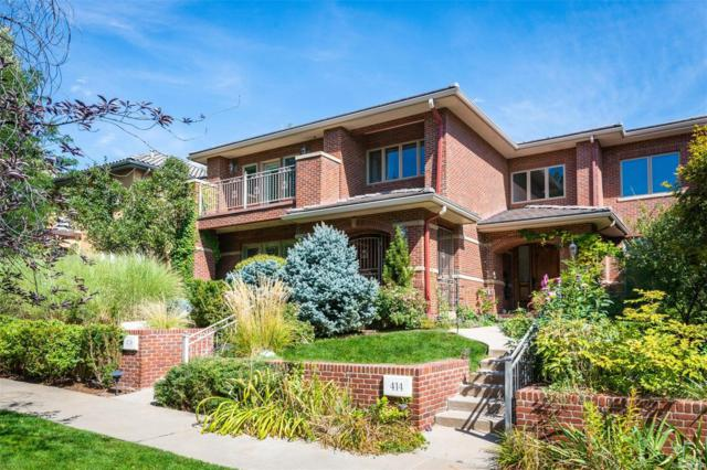 418 Steele Street, Denver, CO 80206 (#4355530) :: Bring Home Denver