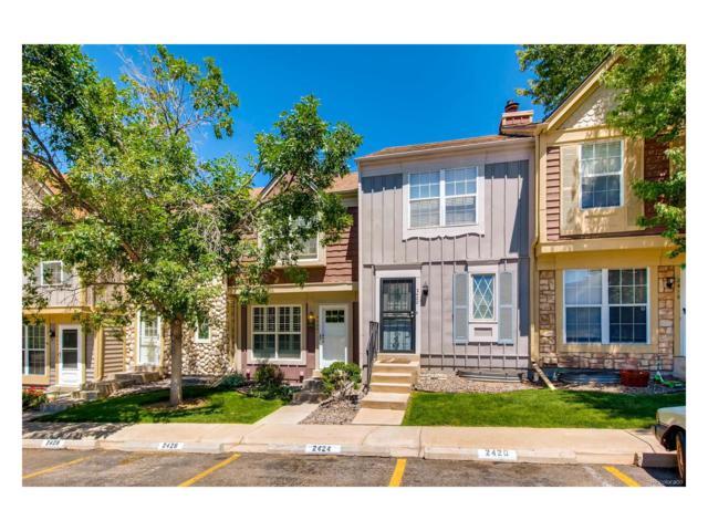 2424 E Nichols Circle, Centennial, CO 80122 (MLS #4356350) :: 8z Real Estate