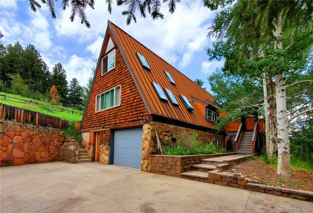 85 Montane Drive, Idaho Springs, CO 80452 (#4356948) :: The Colorado Foothills Team   Berkshire Hathaway Elevated Living Real Estate