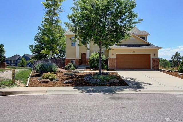 630 Glenwood Drive, Lafayette, CO 80026 (#4357059) :: The Galo Garrido Group
