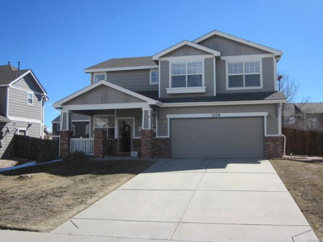 1328 N Heritage Avenue, Castle Rock, CO 80104 (#4357422) :: The HomeSmiths Team - Keller Williams