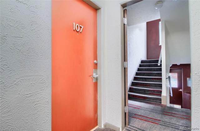 1130 N Pennsylvania Street #107, Denver, CO 80203 (#4357938) :: Briggs American Properties