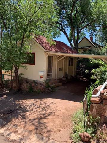 7 Ute Trail, Manitou Springs, CO 80829 (#4360941) :: The DeGrood Team