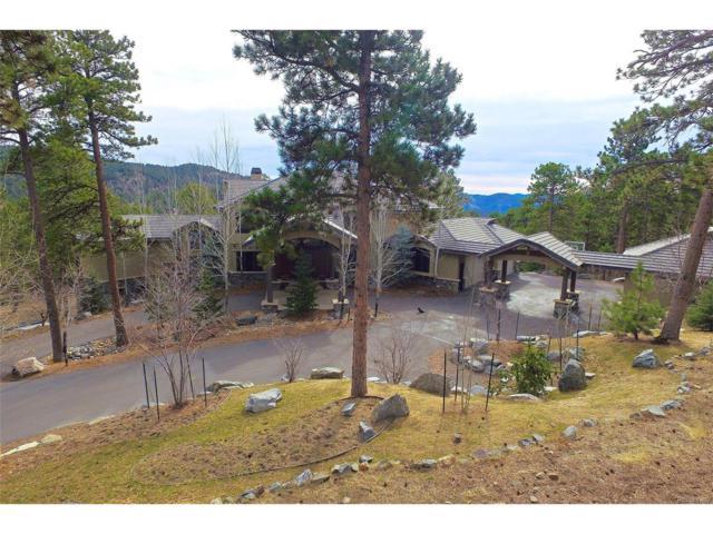 1334 Silver Rock Lane, Evergreen, CO 80439 (MLS #4361875) :: 8z Real Estate