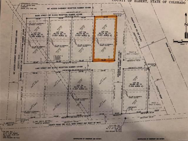 38435 Lake Street, Agate, CO 80101 (MLS #4366401) :: 8z Real Estate