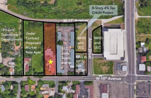5401 W 10th Avenue, Lakewood, CO 80214 (#4368907) :: The Peak Properties Group