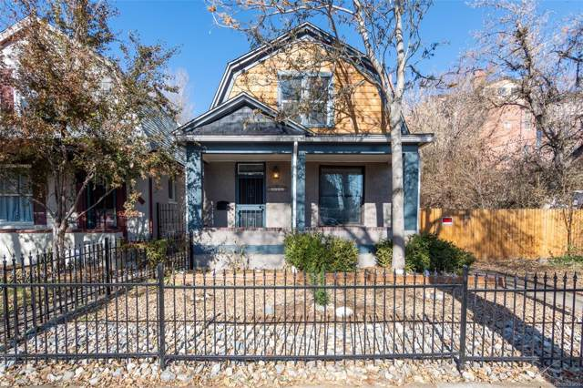 3035 W 23rd Avenue, Denver, CO 80211 (#4371494) :: 5281 Exclusive Homes Realty
