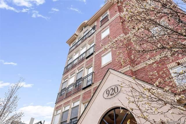 920 E 17th Avenue #102, Denver, CO 80218 (#4372410) :: Wisdom Real Estate