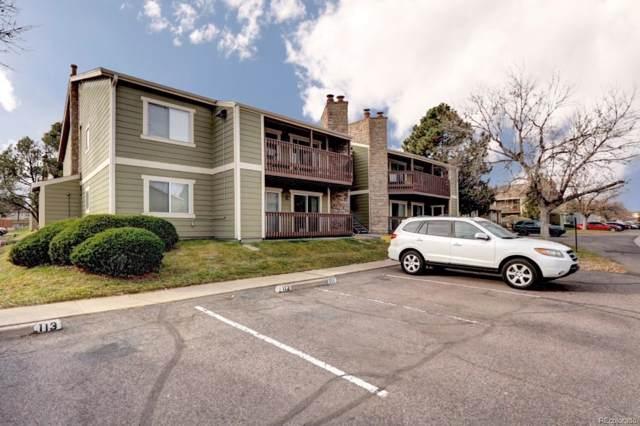 3472 S Eagle Street #103, Aurora, CO 80014 (#4373222) :: The HomeSmiths Team - Keller Williams