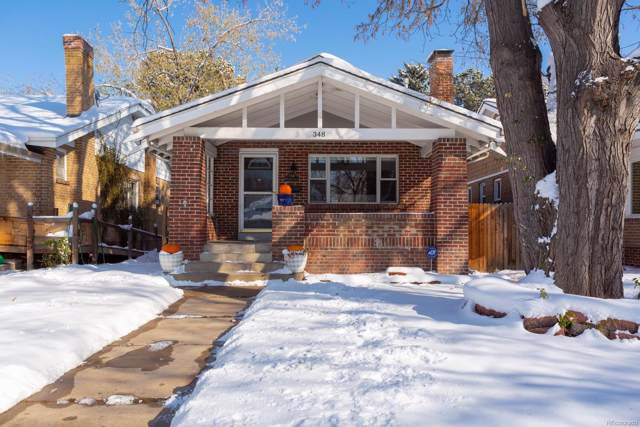 348 S Downing Street, Denver, CO 80209 (#4373505) :: Real Estate Professionals