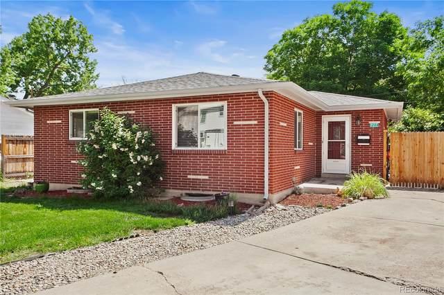 1284 S Newland Court, Lakewood, CO 80232 (#4373564) :: HomeSmart