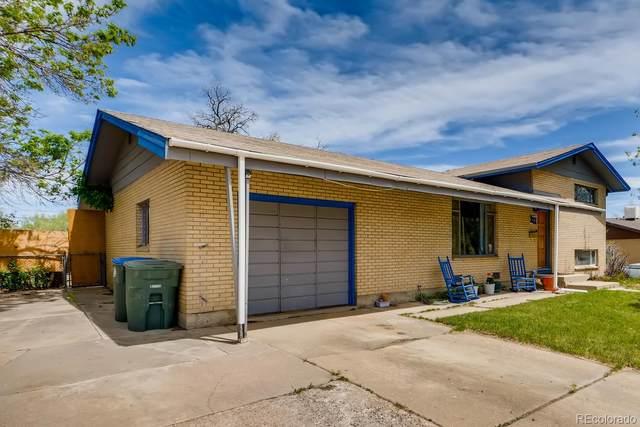 881 W 100th Avenue, Northglenn, CO 80260 (#4378572) :: The Griffith Home Team