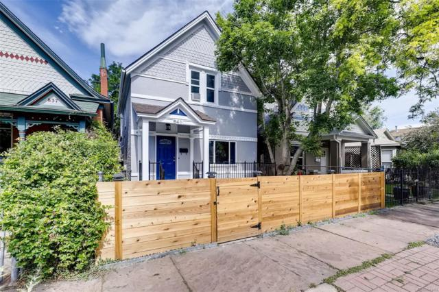 841 Lipan Street, Denver, CO 80204 (MLS #4381584) :: 8z Real Estate
