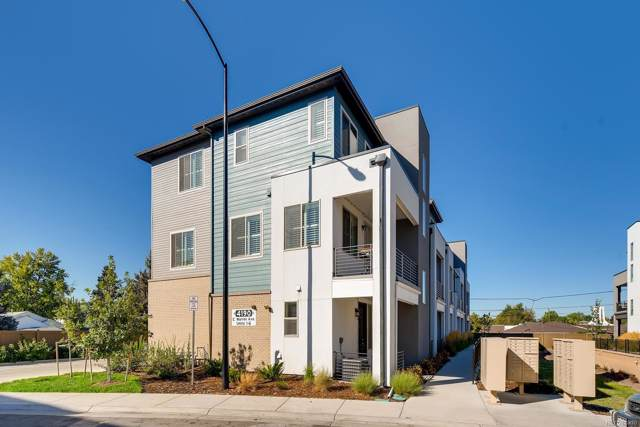 4190 E Warren Avenue #6, Denver, CO 80222 (MLS #4383487) :: Bliss Realty Group