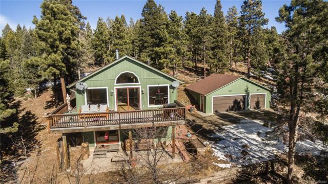 10012 Buena Vista Drive, Conifer, CO 80433 (MLS #4385771) :: 8z Real Estate