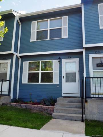 2014 Oakcrest Circle #21, Castle Rock, CO 80104 (#4387701) :: James Crocker Team