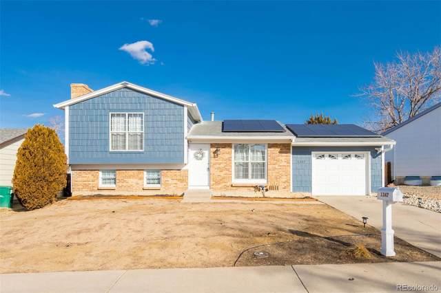1347 S Lewiston Way, Aurora, CO 80017 (MLS #4388607) :: 8z Real Estate