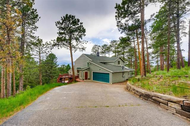24848 Richmond Hill Road, Conifer, CO 80433 (#4393197) :: The Colorado Foothills Team   Berkshire Hathaway Elevated Living Real Estate