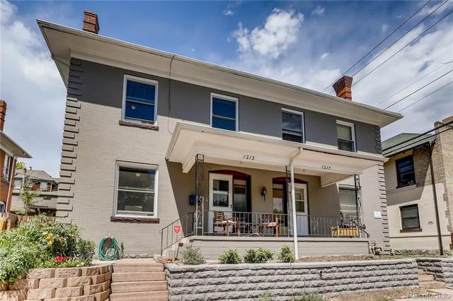 1215 E 12th Avenue, Denver, CO 80218 (#4393522) :: The Scott Futa Home Team