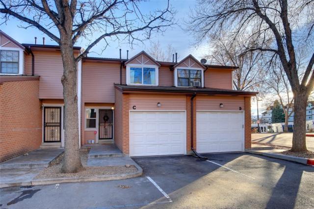 1693 Carr Street C, Lakewood, CO 80214 (#4395710) :: House Hunters Colorado