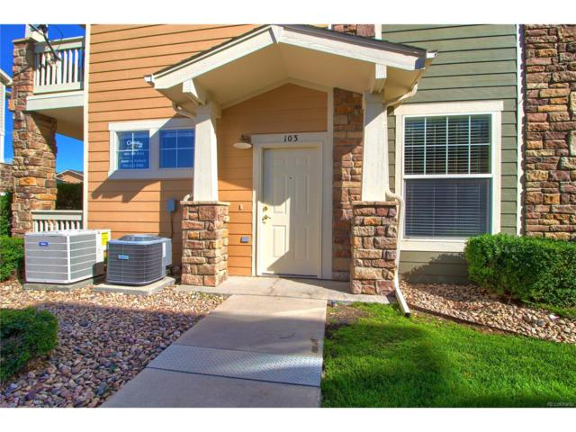 9515 Pearl Circle #103, Parker, CO 80134 (MLS #4396132) :: 8z Real Estate