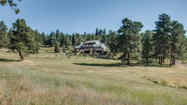 5178 S Elk Ridge Road, Evergreen, CO 80439 (#4396515) :: The Pete Cook Home Group