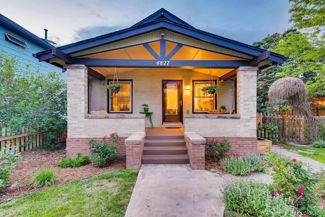 4827 W 36th Avenue, Denver, CO 80212 (#4402106) :: The HomeSmiths Team - Keller Williams