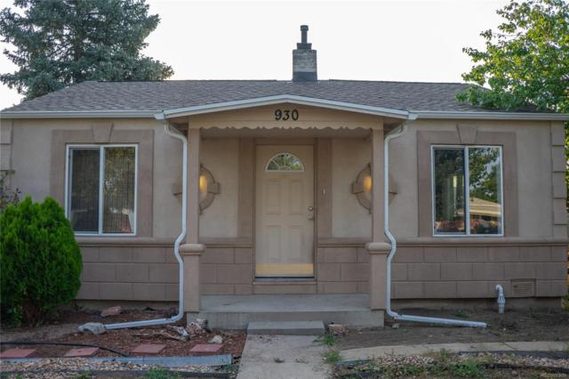 930 Grove Street, Denver, CO 80204 (#4405564) :: Structure CO Group